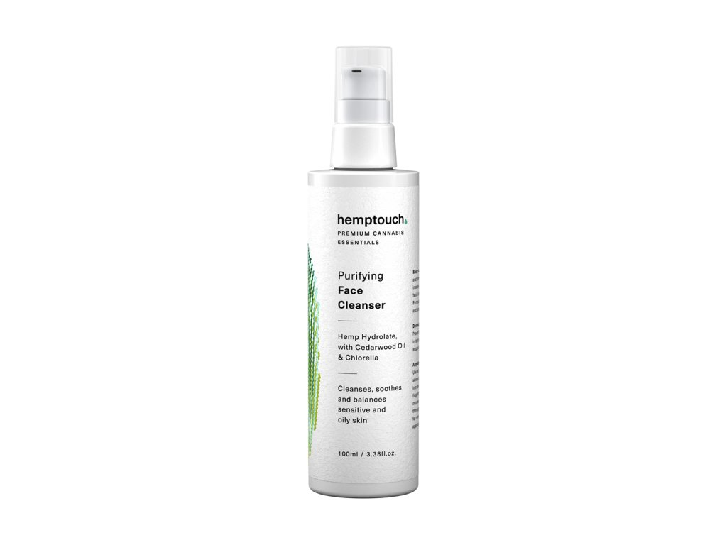 purifying face cleanser w