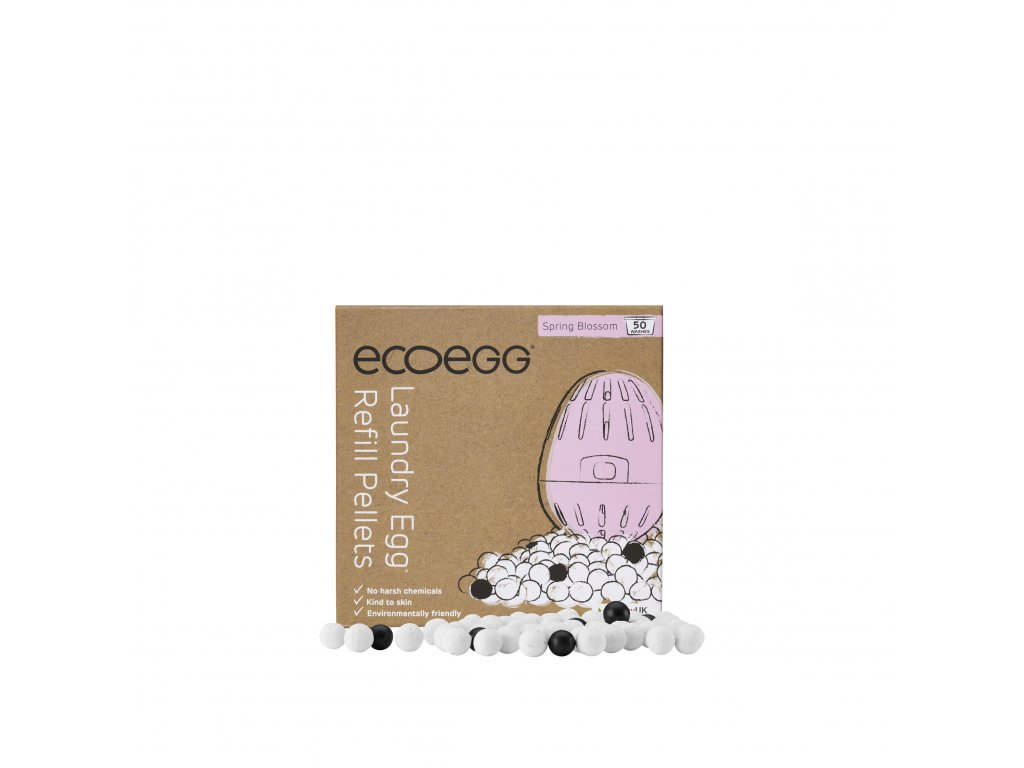 ecoegg LaundryEgg Refills Box&Pellets SpringBlossom Resize