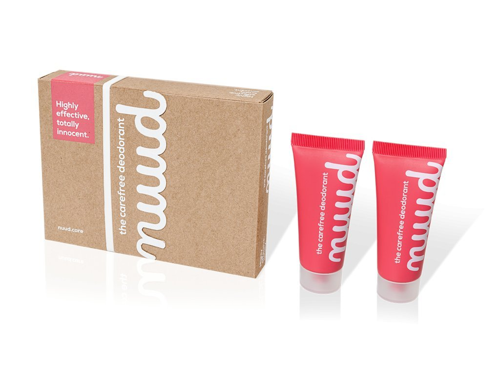 nuud deodorant smart pack box 2x20ml