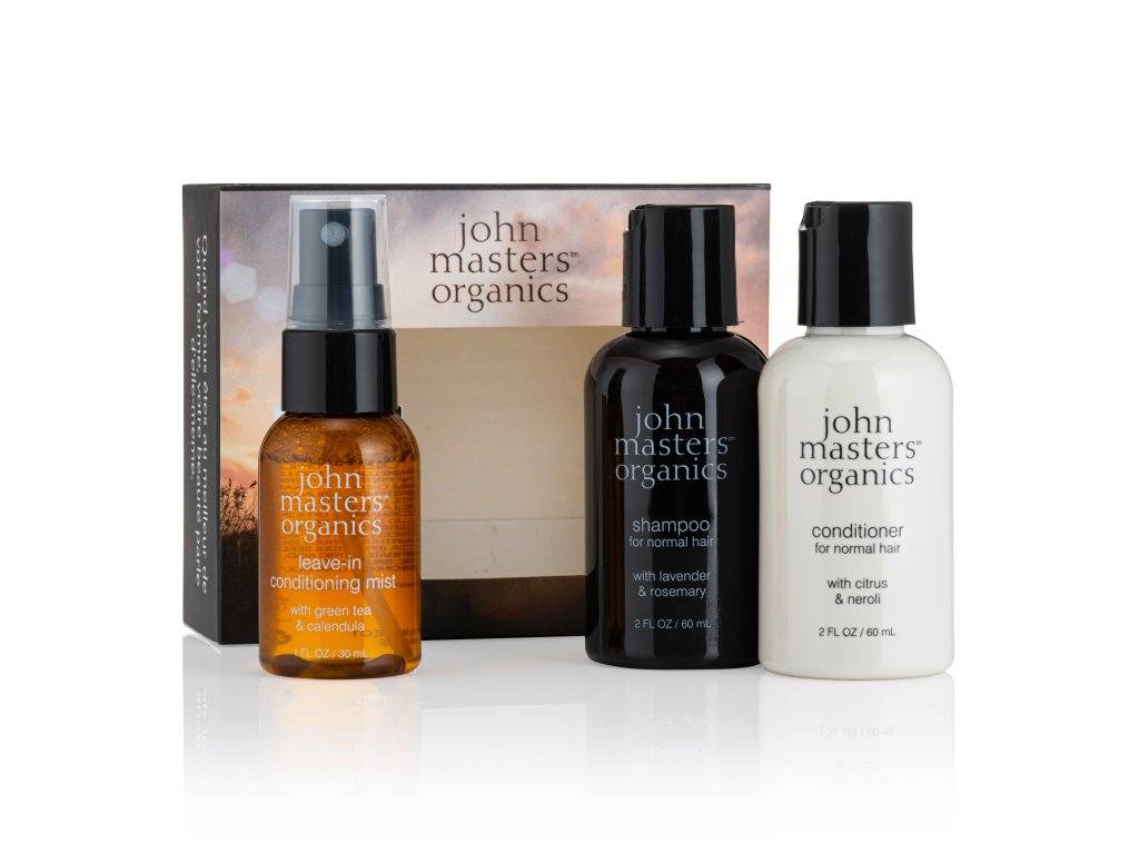 john masters organic cestovny darcekovy set normalne vlasy