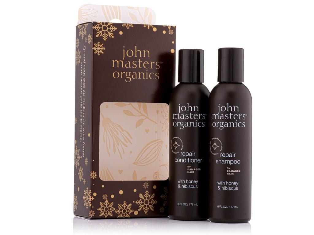 john masters organic darcekovy set poskodene vlasy