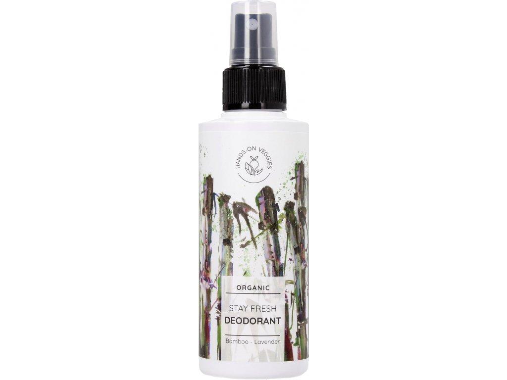 hands on veggies deodorant bambus levandula 150ml