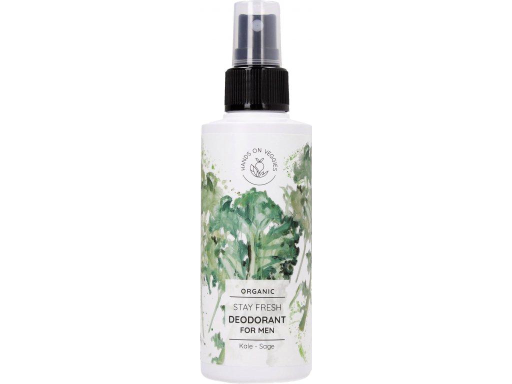 hands on veggies deodorant pre muzov kel salvia 150ml