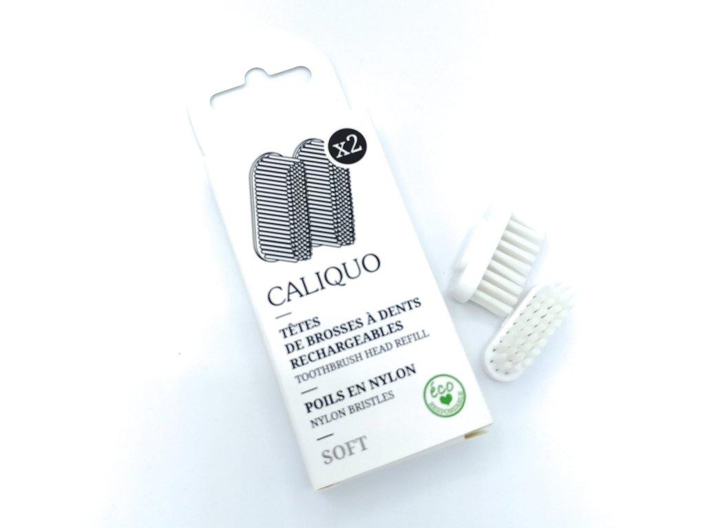 caliquo vymenitelne hlavice na zubnu kefku soft