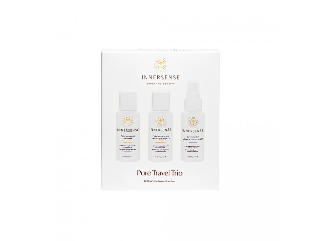 Pure Travel Trio Box Innersense Organic Beauty