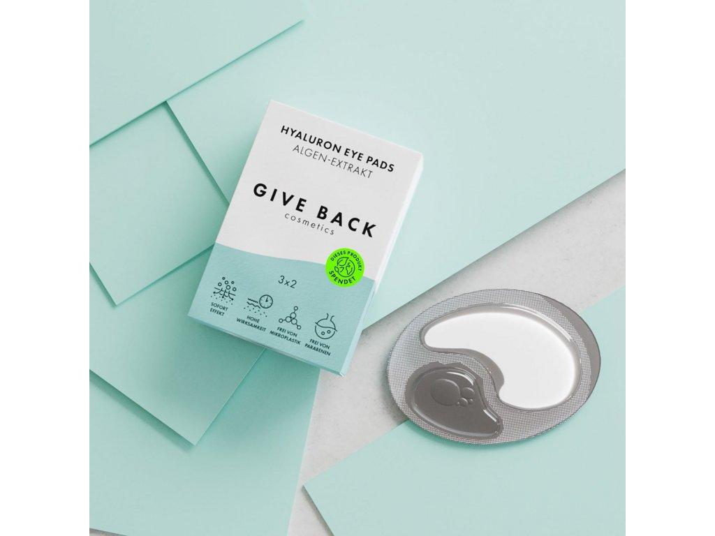 give back eye pads