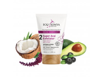 eco by sonya acai peeling 100ml