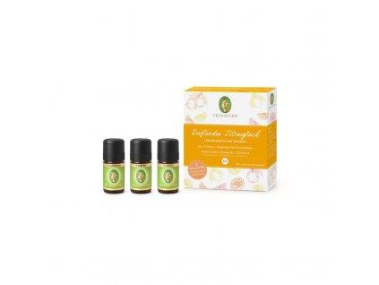 Primavea citrusove stastie sada esencialnych olejov