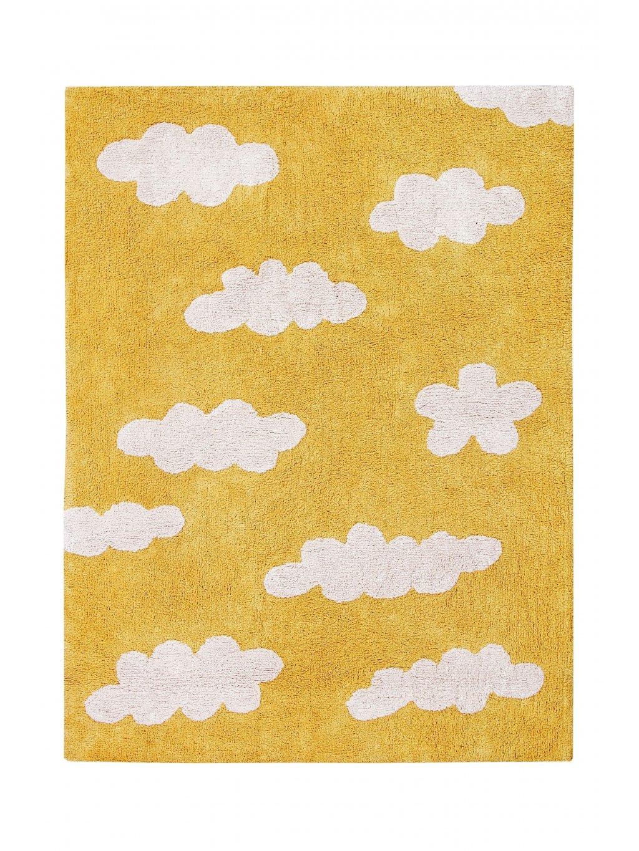 Detský koberec Oasis žltý