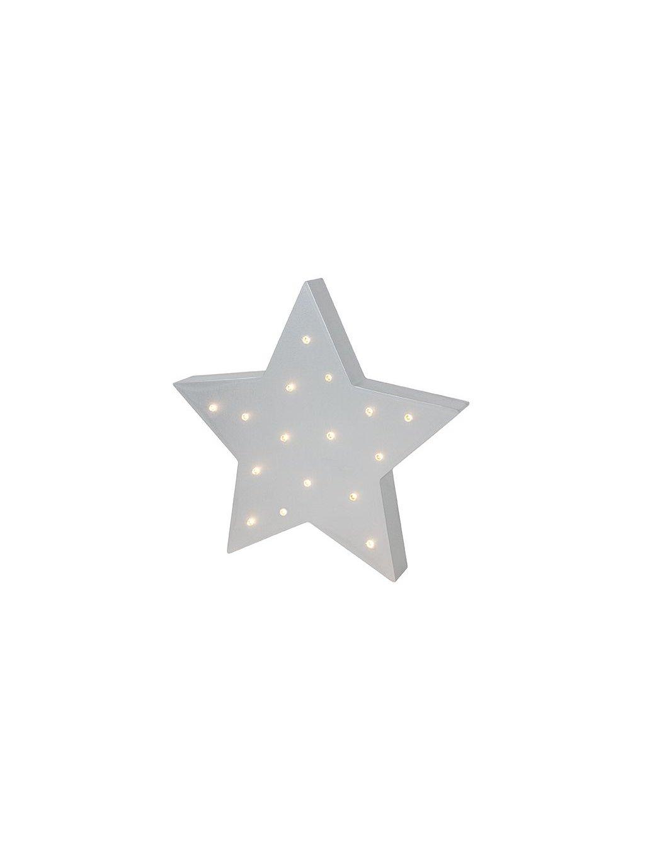 Detská Led lampička Star