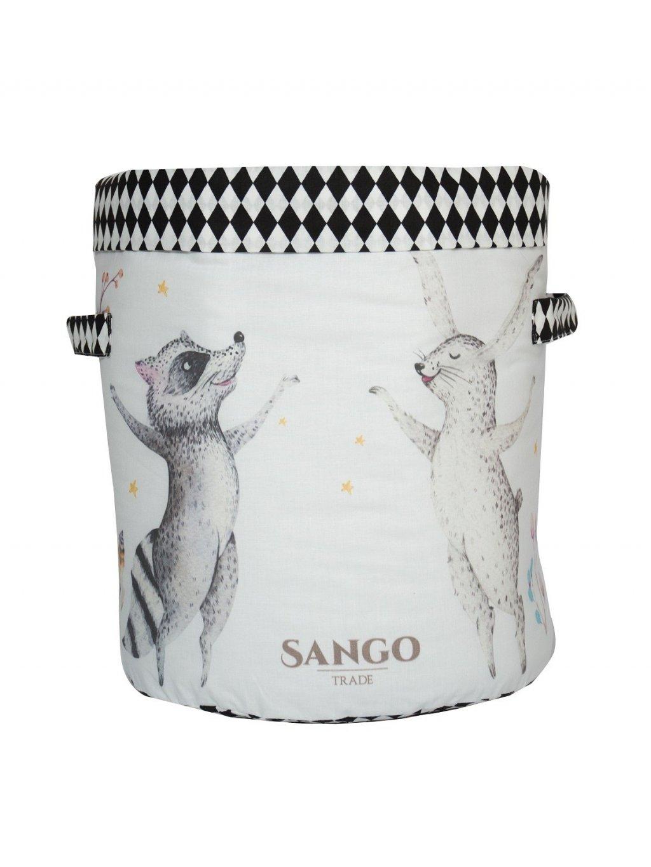 Úložný kôš na hračky Sango