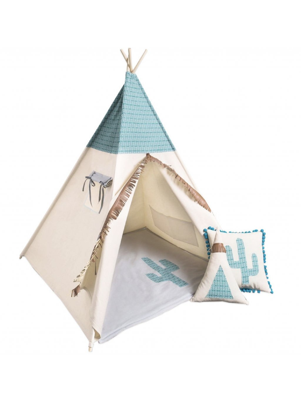 Teepee stan Mexican set 6 01