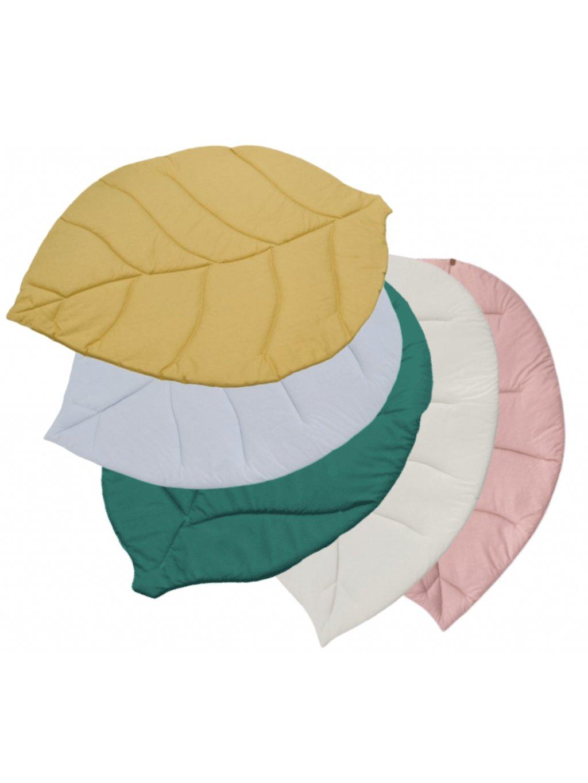 Hracia podložka pre bábätká List Baby 110x85 cm rôzne farby 3