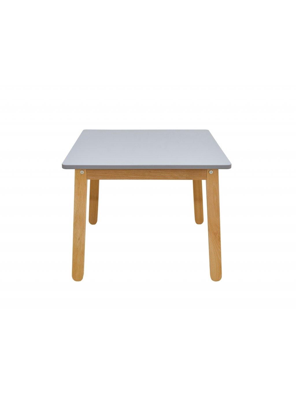 Detský stolík Woody sivý