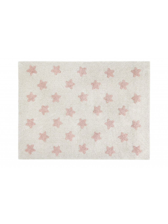 Detský koberec Stars ružový 1