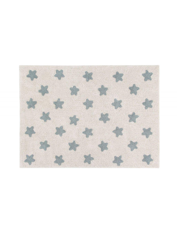 Detský koberec Stars modrý 1