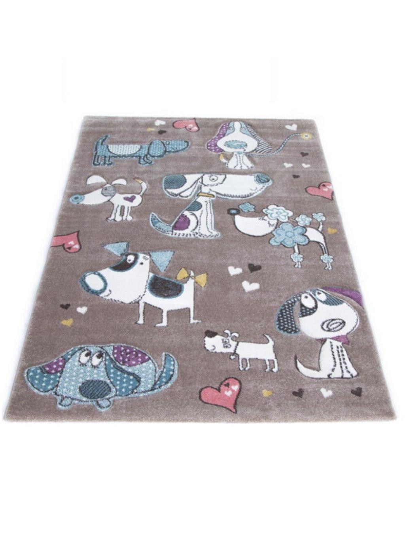 Detský koberec Pastel Animals rôzne rozmery 04