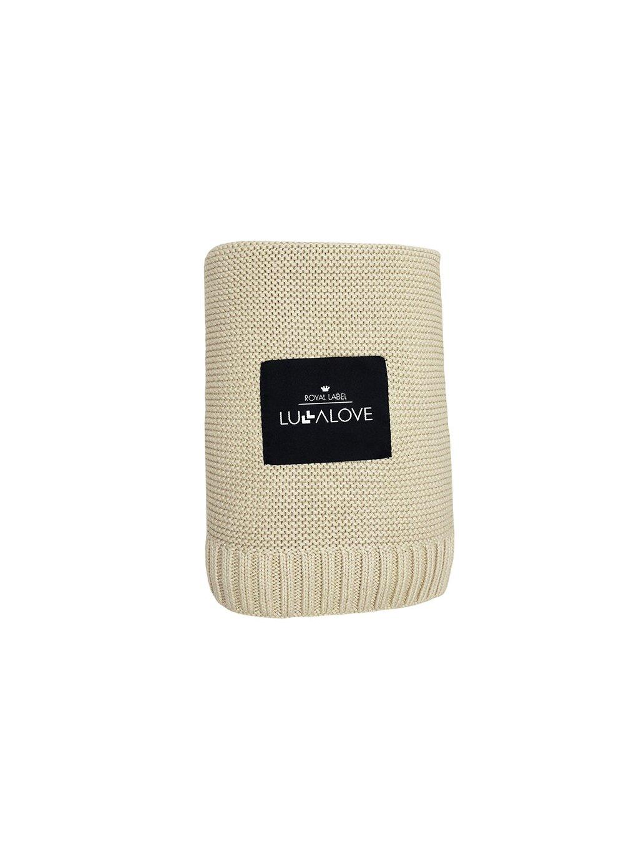 Bambusová deka Lulalove bežová