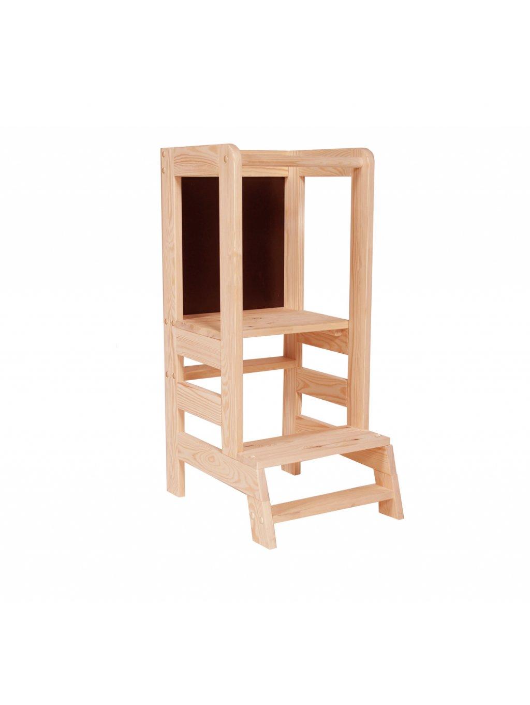 Drevená učiaca veža s tabuľou 03