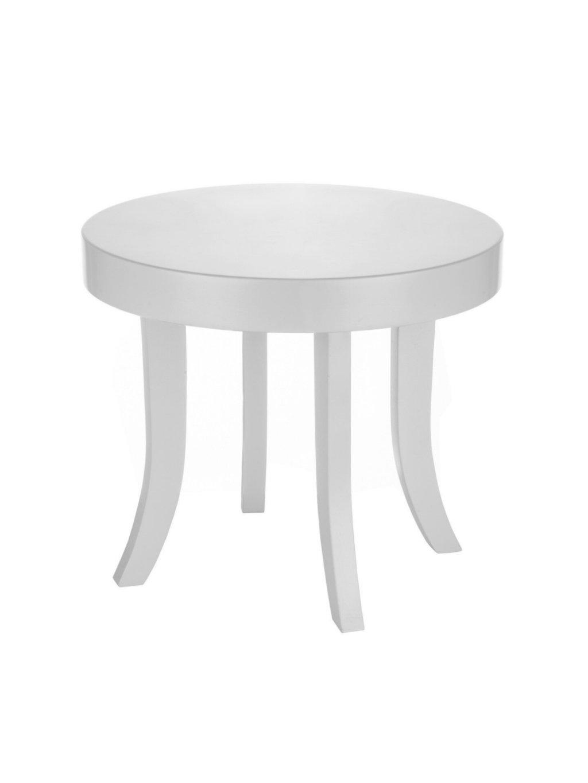 Detský stolík Somebunny okrúhly biele nožičky 00