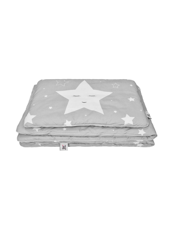 Set detskej bavlnenej prikrývky s vankúšom Shining Star 05