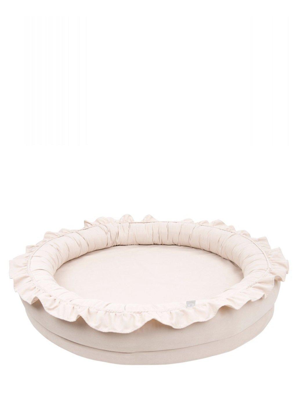 Detské hniezdo okrúhle Cotton&Sweets Powder Pink 05