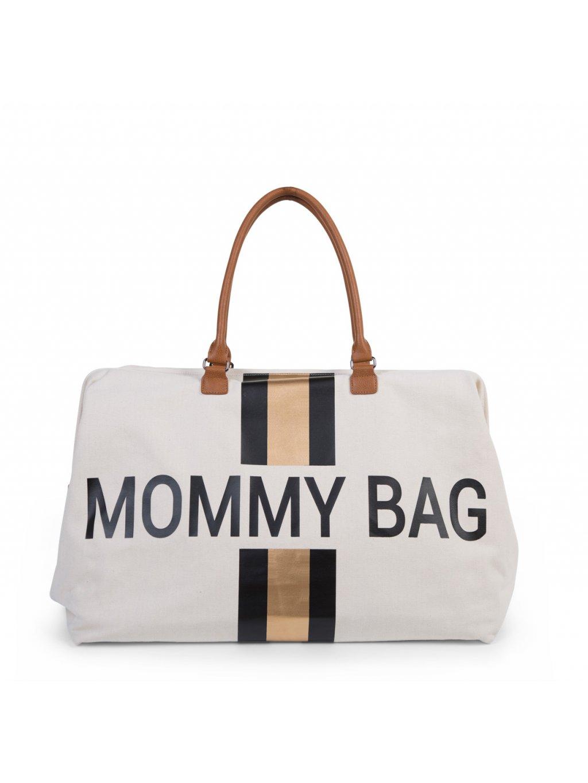 Childhome prebaľovacia taška Mommy bag black:gold