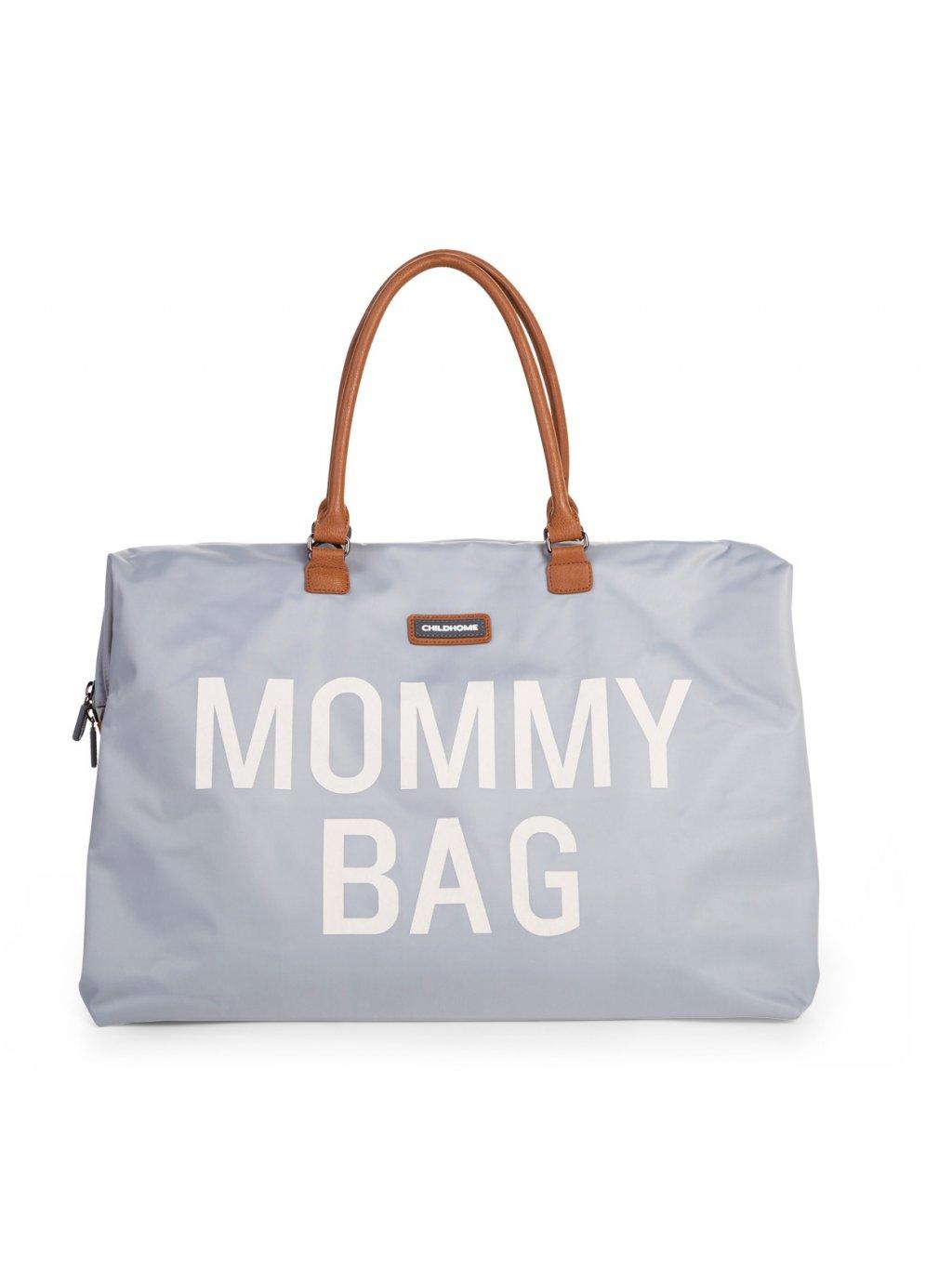 Childhome prebaľovacia taška Mommy bag Grey off 01