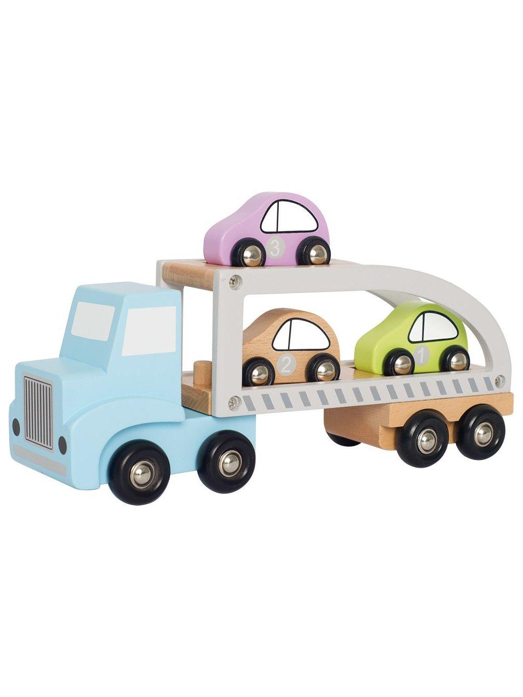 Drevený autotransportér