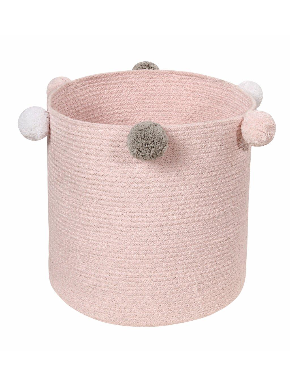 Úložný kôš na hračky Bubbly Pink