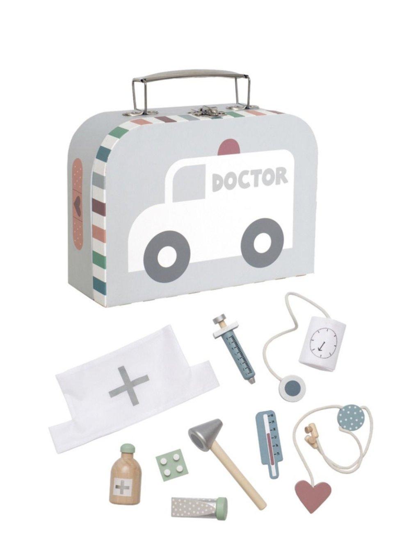 Lekársky kufrík strieborný 09