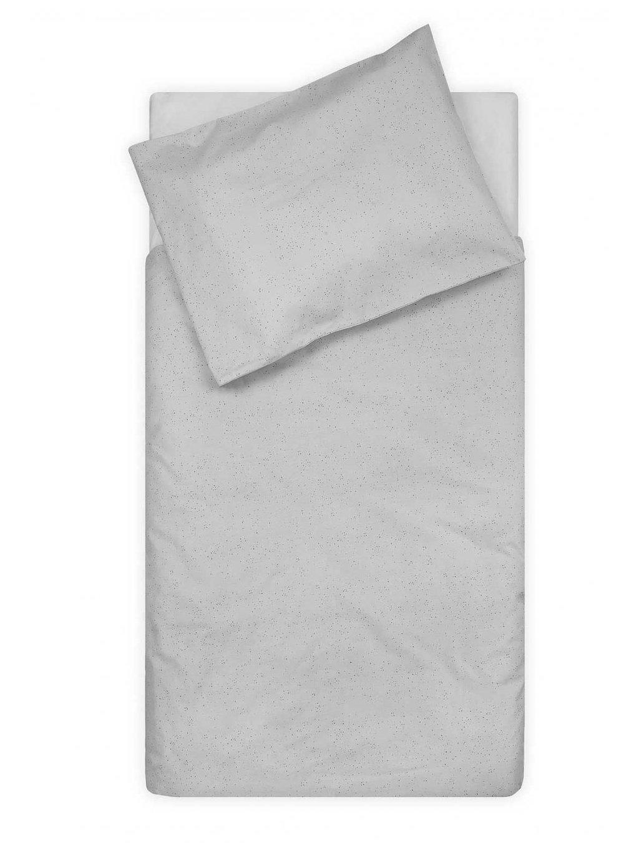 Bavlnené obliečky Mini Dots 140x100 cm Grey