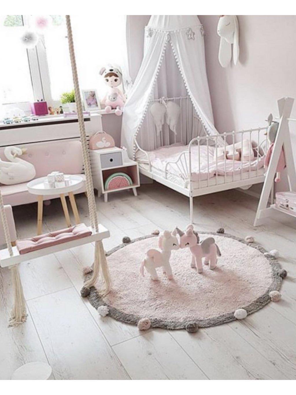 Detský koberec ružový Bubble 120 cm 00