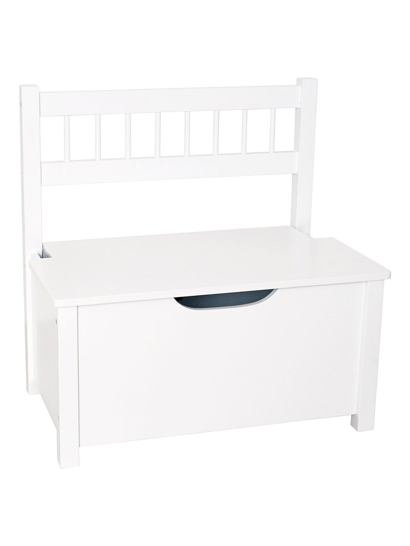 Drevený lavica s úložným priestorom