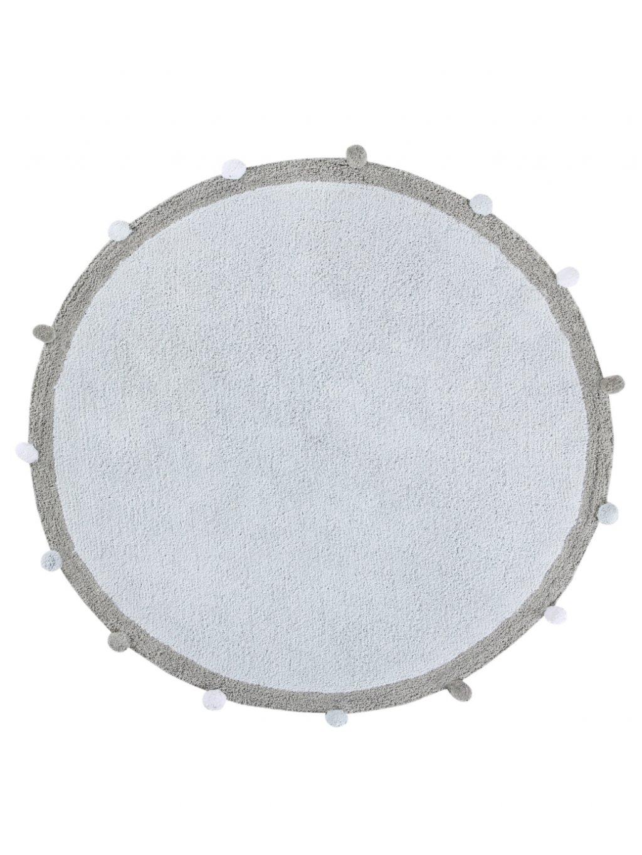 Prateľný koberec Bubbly modrý 01
