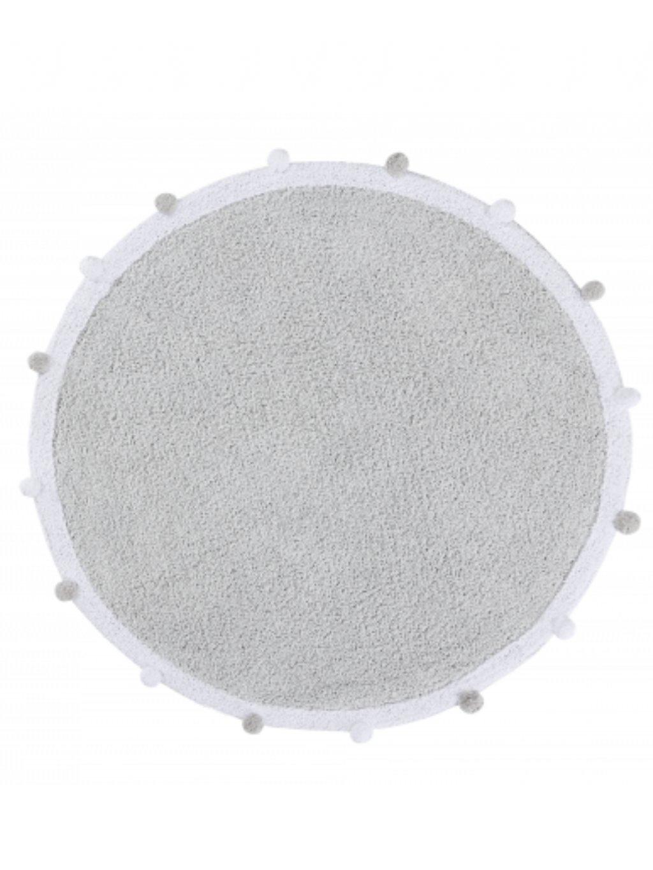 Prateľný koberec Bubbly sivý 11