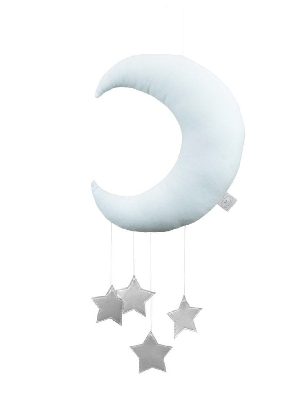 Závesná dekorácia Mesiac nad postieľku Mint 00