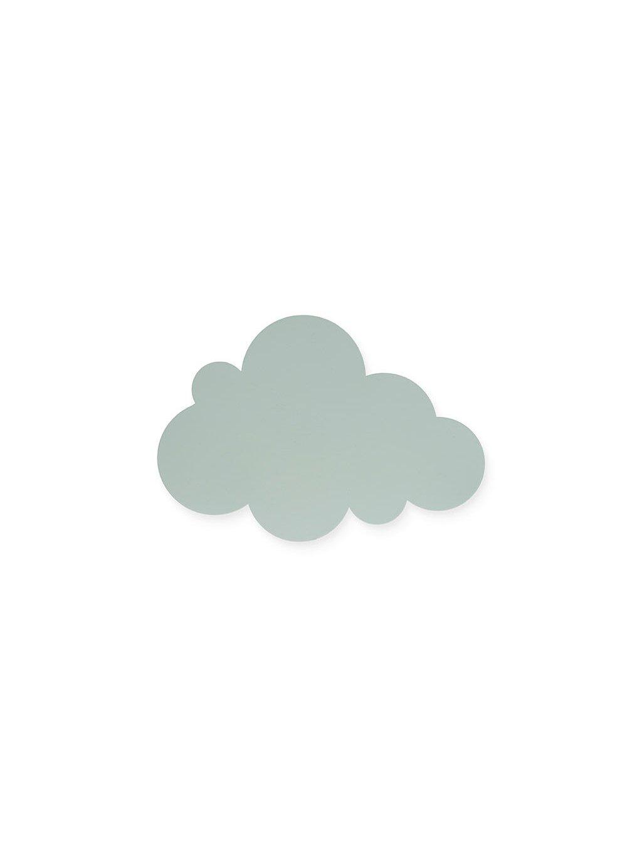 Detská lampa Oblak - zelená