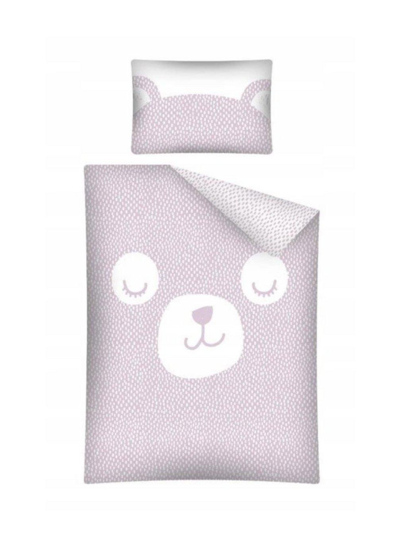 Bambusové obliečky Baby Bear ružové rôzne rozmery 00