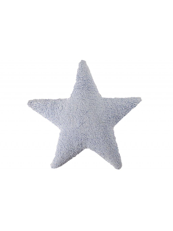Detký vankúš Star modrý 0