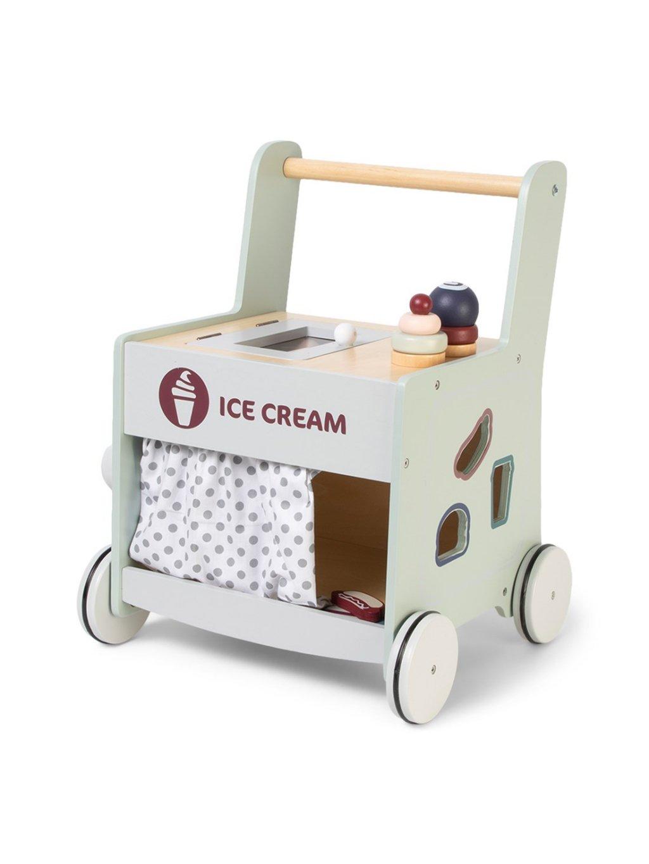 Zmrzlinový vozík a chodítko 4v1 3