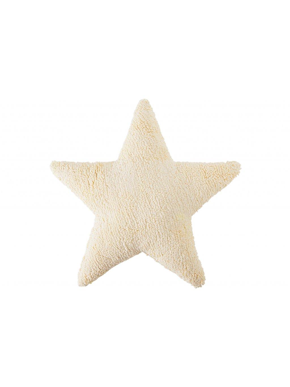 Detský vankúš Star vanila