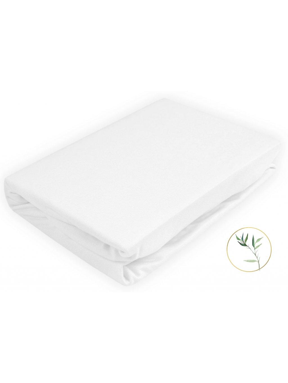 Bambusová biela plachta 120x60 12