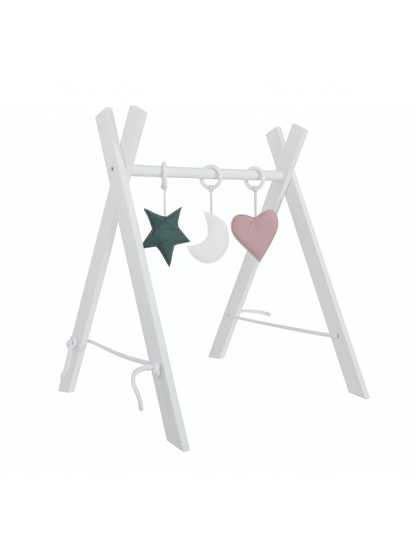 Hrazda pre bábätko na komodu:na zem + hračky zadarmo