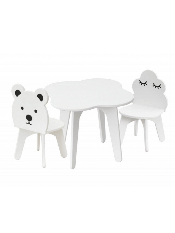 Set detský stolík a 2 kresielka
