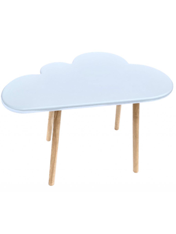 Detský bukový stolík Obláčik 1