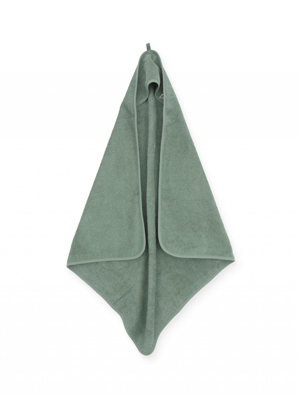 Uterák Frotté s kapucňou Jollein 75x75 cm ash green