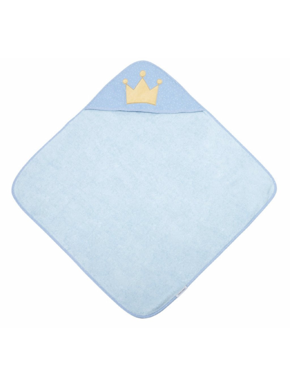 Canpol babies Mäkká osuška s kapucňou 85x85cm King, modrá 00
