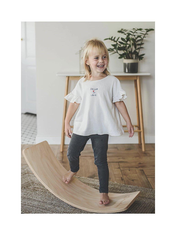 Hojdacia balančná doska Junior 80x30 cm 2
