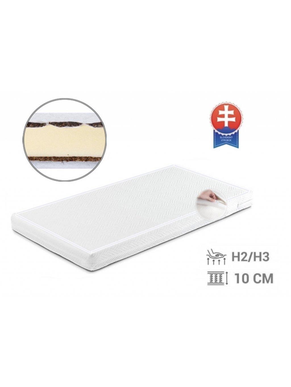 Kokosovo pohánkový matrac 120x60x10 cm
